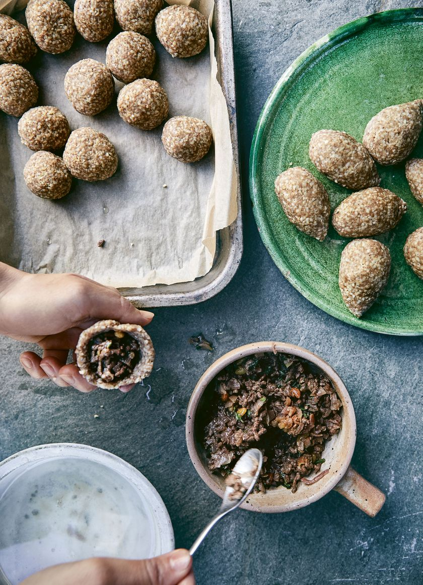 Recipes for Palestinian Mezze | Kubbeh