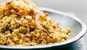 Palestinian Mejadra | Easy Lentil Store Cupboard Recipe