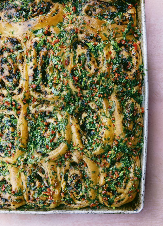 Palestinian Recipes | Savoury Sumac Buns