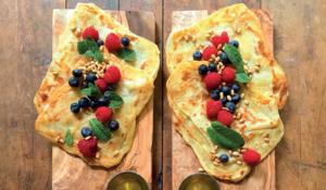Crispy Moroccan-inspired Pancakes (M'smmen) | Symmetry Breakfast
