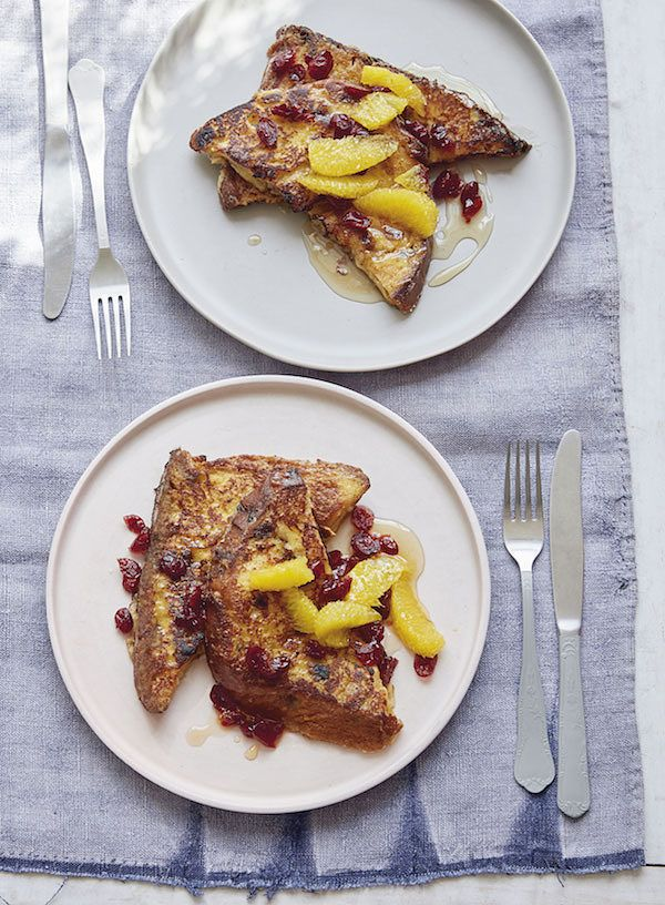 indulgent breakfast ideas for Christmas Day panettone perdu six minute showstoppers
