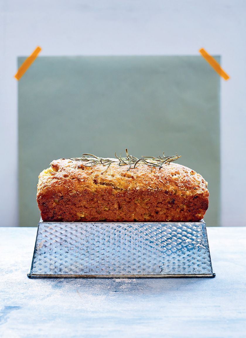 Easy Baking Recipes | Savoury Spelt Loaf Cake