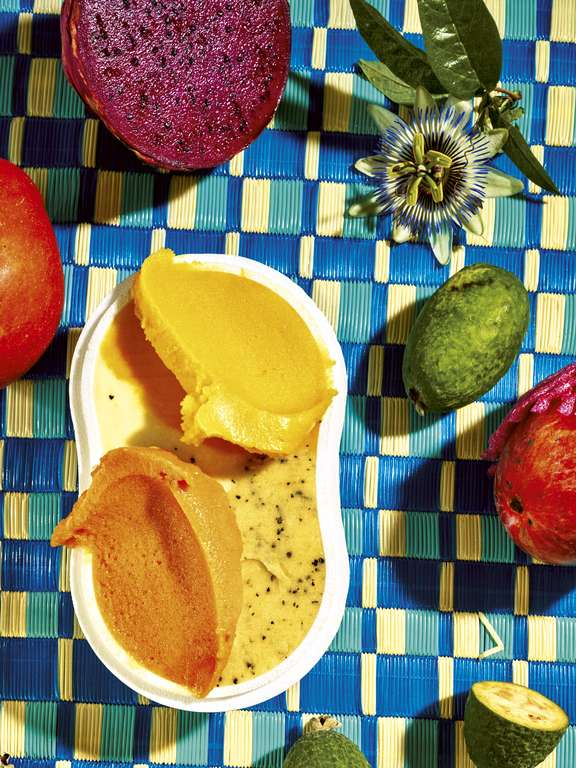 Passion Fruit Sour Sorbet