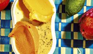 Passion Fruit Sour Sorbet Recipe La Grotta Ices