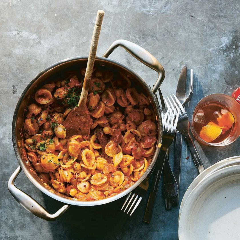 Orecchiette Pasta with Chickpeas Recipes | NYT Cooking