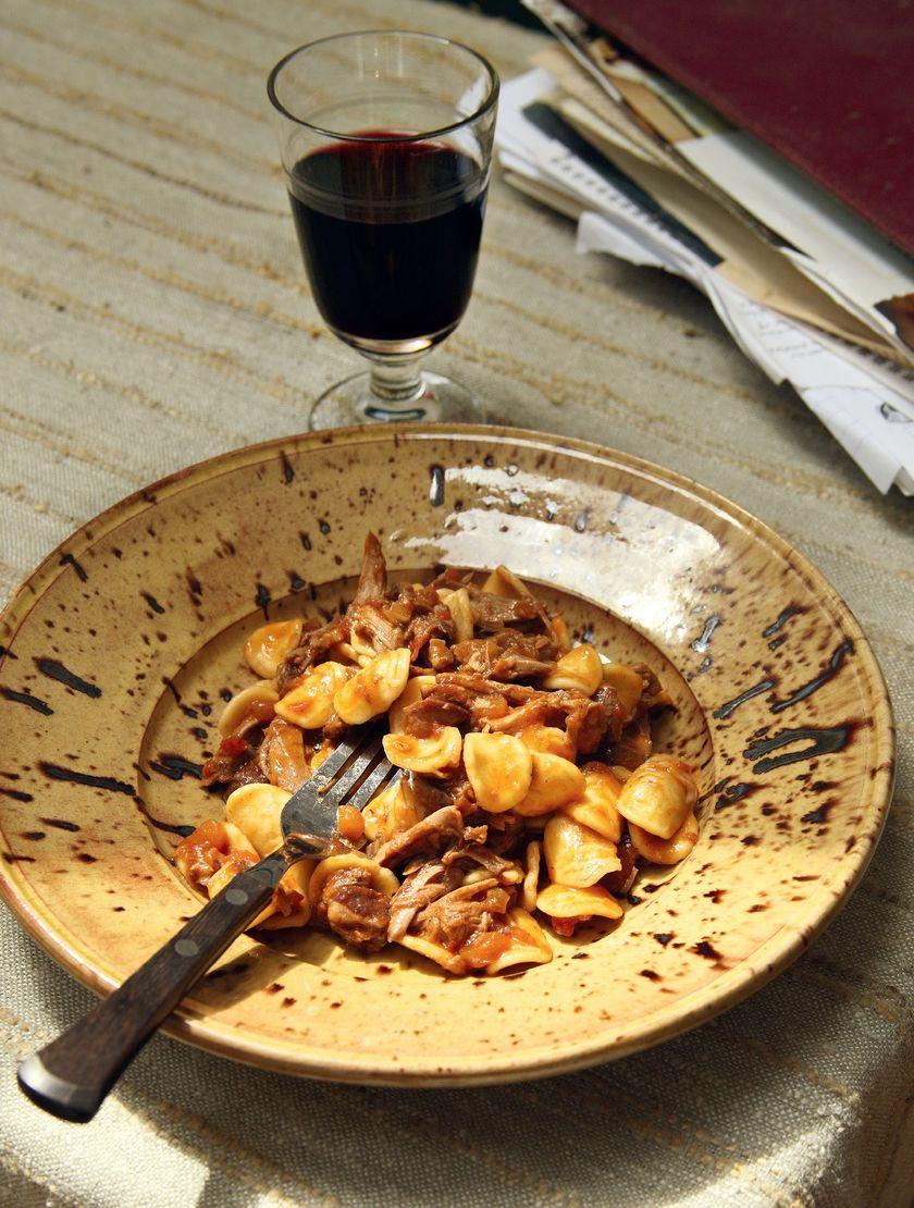 Theo Randall Duck Orecchiette | Simple Pasta Recipe