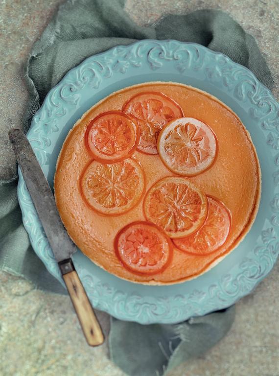 Blood Orange Tart