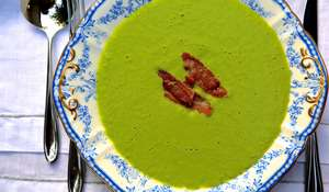 Pea and Bacon Soup Recipe Nadia & Kaye