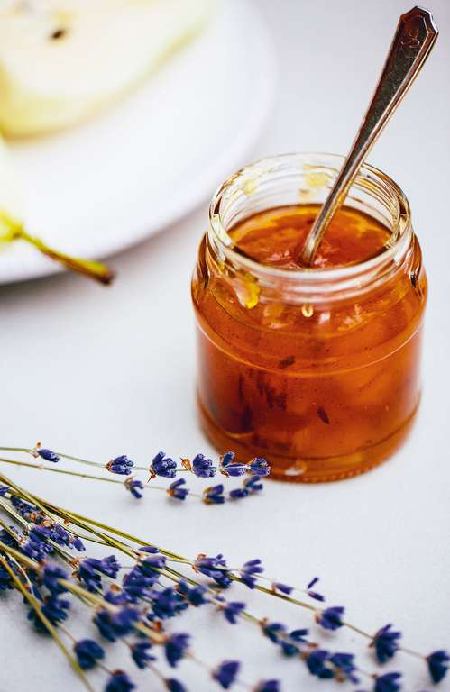 Pear and Lavender Jam
