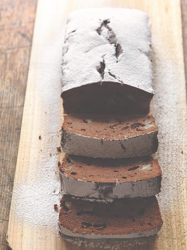 best pear recipes chocolate and pear cake anna del conte italian kitchen
