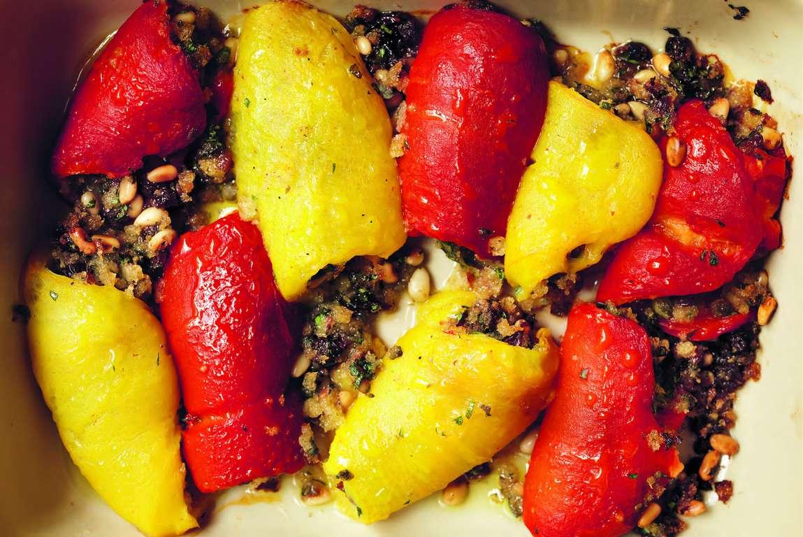 Roast Pepper Rolls [ involtini di peperoni alla barese ]