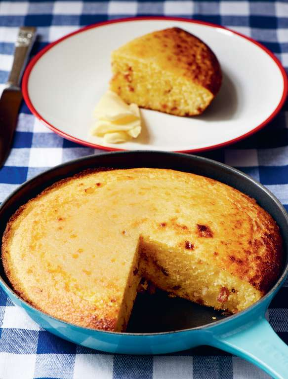 Bacon and Marmalade Cornbread