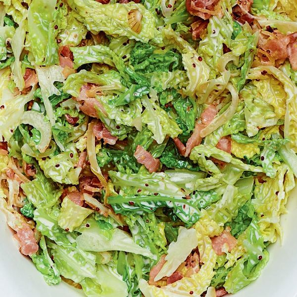 Savoy Cabbage And Bacon Gratin The Happy Foodie