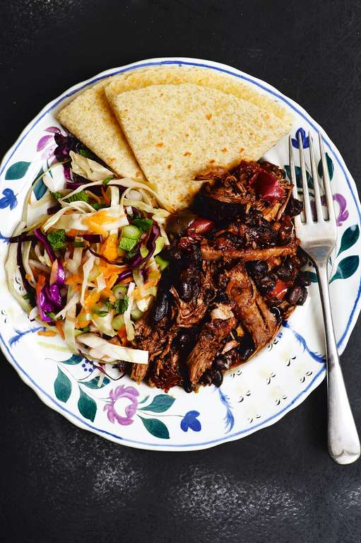Pulled Pork and Black Bean Chilli