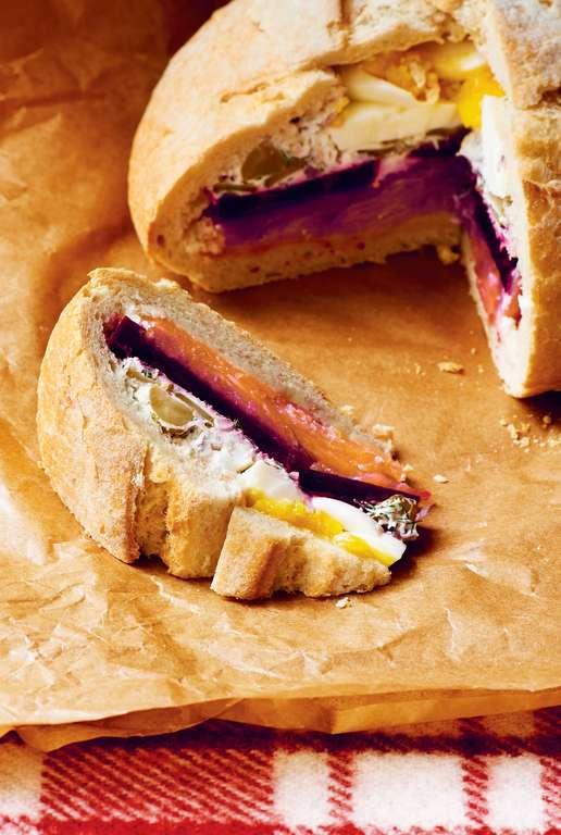 Scandinavian Picnic Loaf