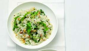 Slow-Cooker Pinenut, Fennel and Parmesan Risotto