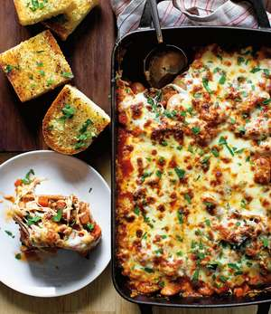 Pizza Bean Bake Recipe   Gluten-free pizza alternatives
