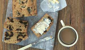 Plum Bread in a Hurry