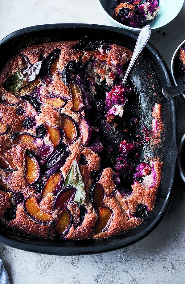 ottolenghi plum cake