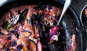 Yotam Ottolenghi Plum & Blackberry Friand | Dessert Recipe from SIMPLE