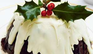 Plum Pudding Bombe from Felicity Cloake's The Perfect Host