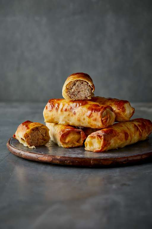 Eat Well For Less Home-made Pork and Apple Rolls