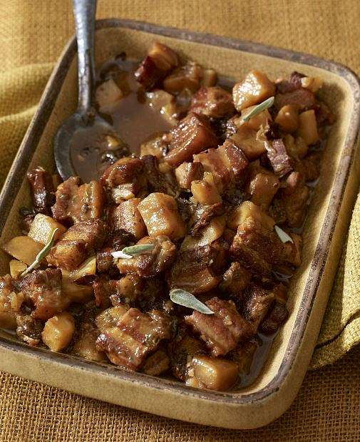 Belly Pork and Prunes