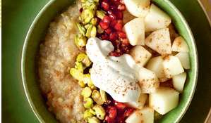 Ancient Grains Porridge with Pear