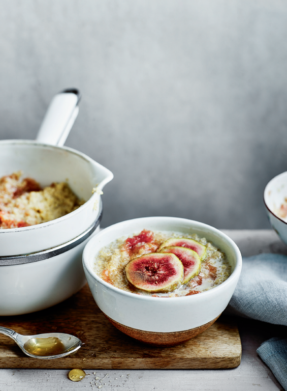 Fig and Cinnamon Quinoa Porridge