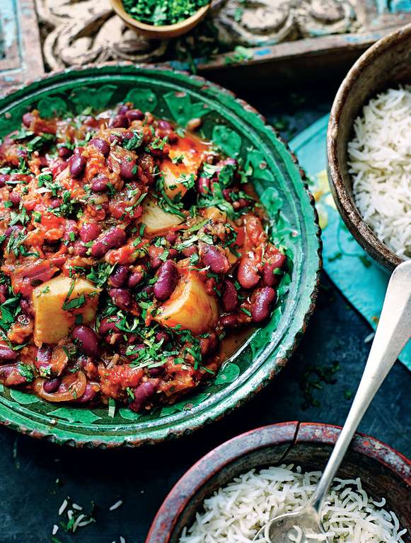 Potato and Kidney Bean Daube