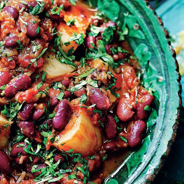 Potato And Kidney Bean Daube The Happy Foodie