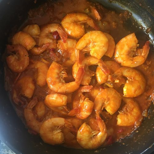 Prawn and Orange Curry