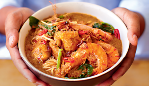 Prawn Curry Laksa (Kari Laksa Udang) from Amazing Malaysian