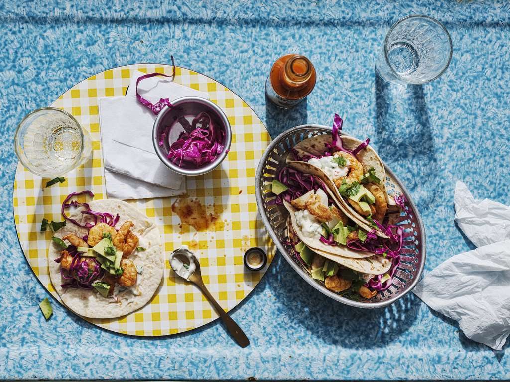 Chris Bavin's Prawn Tacos
