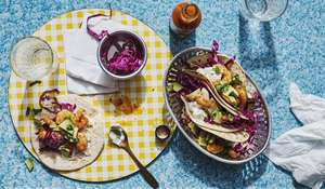 Chris Bavin Prawn Tacos | Quick Mexican-style Seafood Recipe