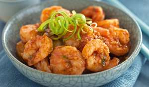 Sichuan Prawns in Chilli Sauce