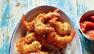 Rick Stein's Deep-fried Coconut Prawns
