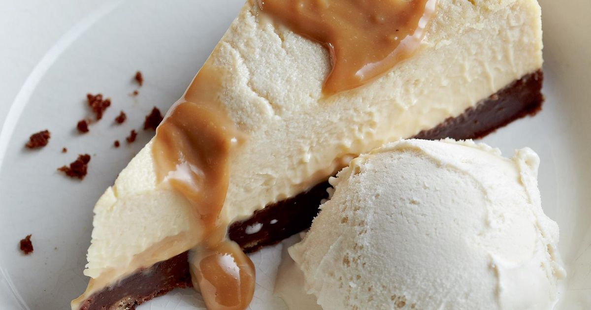 Jamie Oliver New York Cheesecake Recipe: New York-Style Cheesecake With Salted Caramel