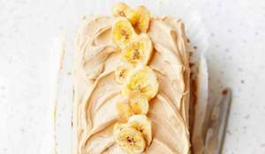 Primrose Bakery Banoffee Loaf with Salted Caramel Buttercream