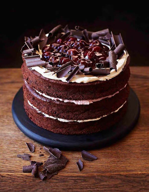 how to cook with tinned cherries gluten free black forest cake