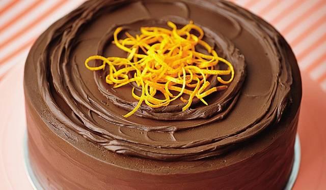 'Jaffa Cake' Cake