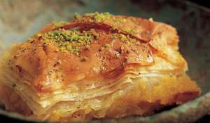 Istanbul Orange and Vanilla Baklava
