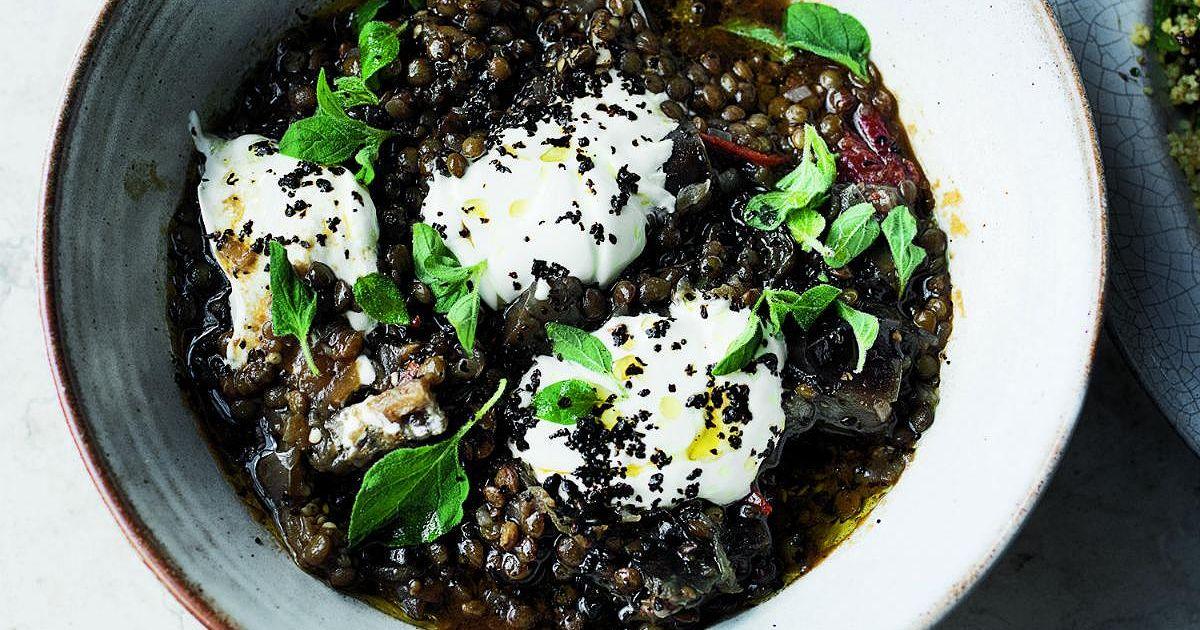 Yotam Ottolenghi Puy Lentil Amp Aubergine Stew Recipe From
