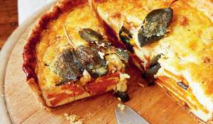 Squash, Brown Butter and Sage Quiche