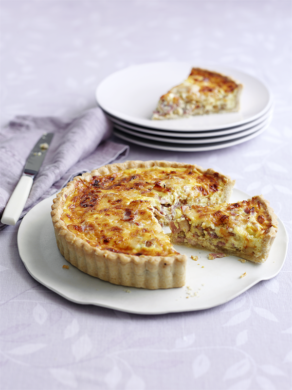 packed lunch recipes quiche lorraine mary berry
