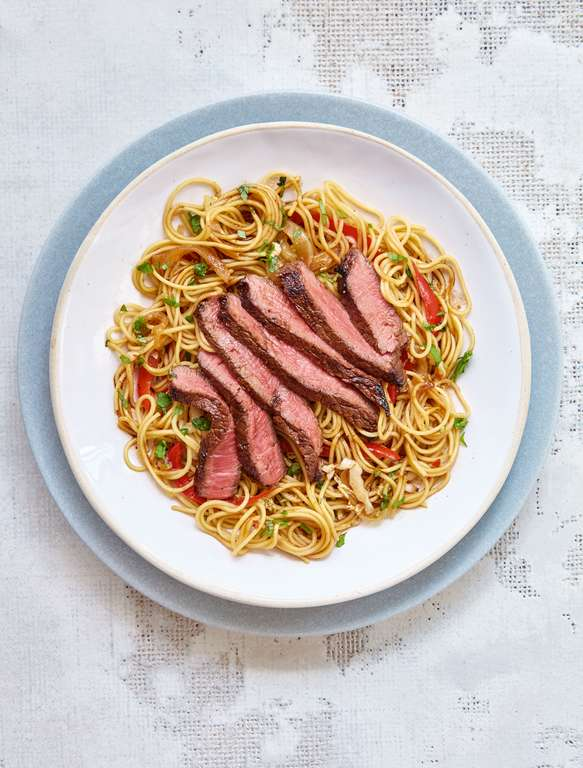 Mary Berry's Asian Beef and Red Pepper Stir-Fry