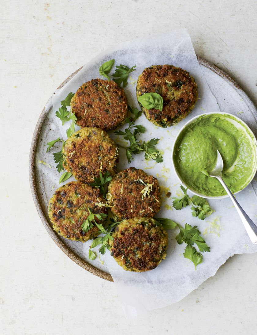 Melissa Hemsley Leftover Quinoa Fritters