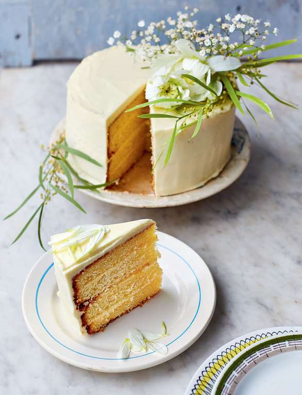 Rachel Khoo's DIY Wedding Cake