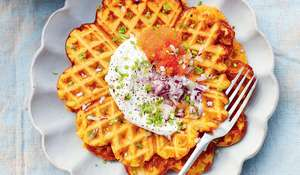 Rachel Khoo Squash Waffles | My Swedish Kitchen Food Network