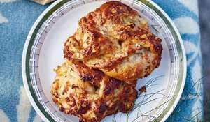 Rachel Khoo Swedish Apple and Cheese Spelt Buns (Dinkelbulle med äpple och ost) Recipe